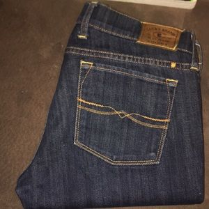 Lucky Brand denim jeans Charlie skinny size 4/27
